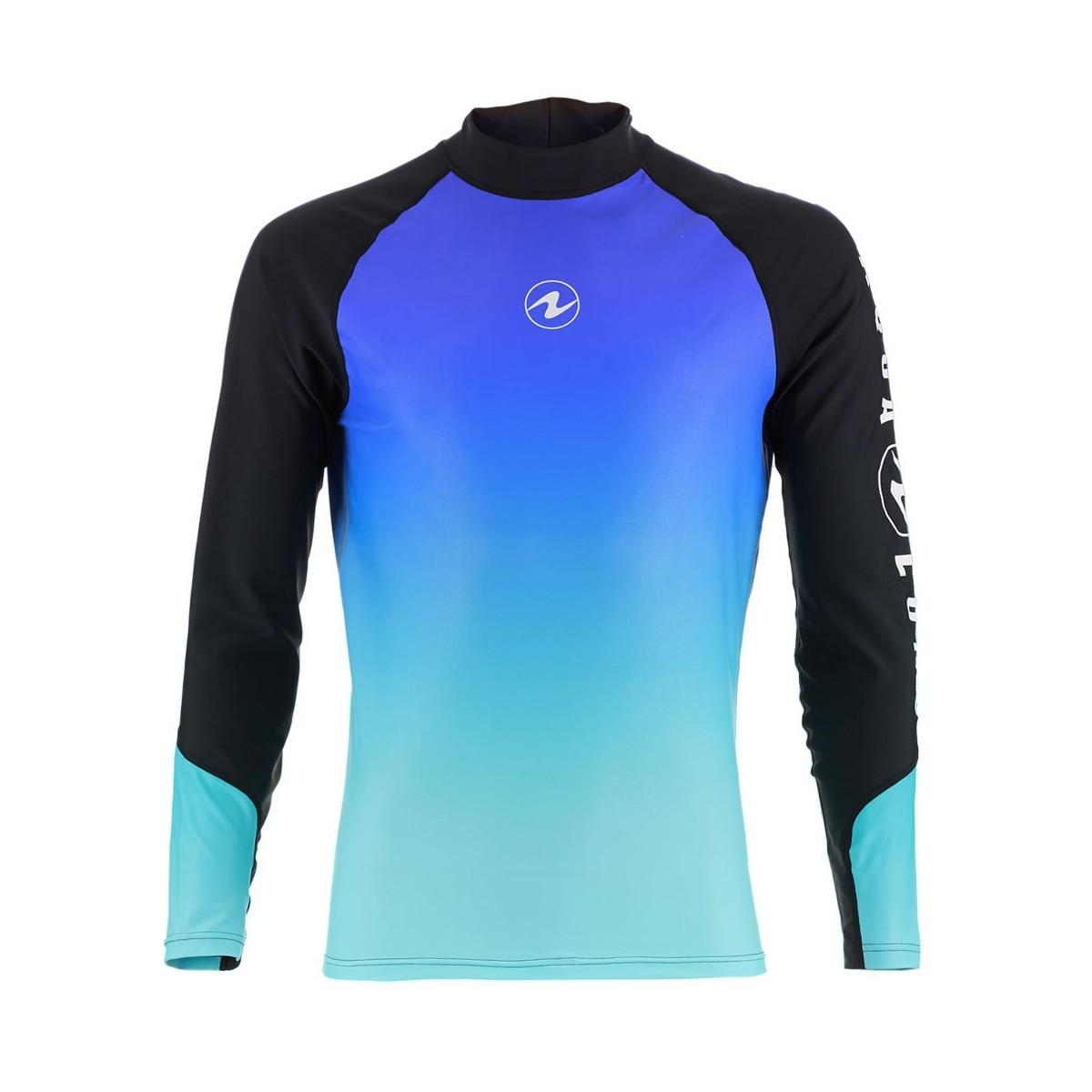 Aqua Lung Men's Long Sleeve Athletic Fit Rashguard