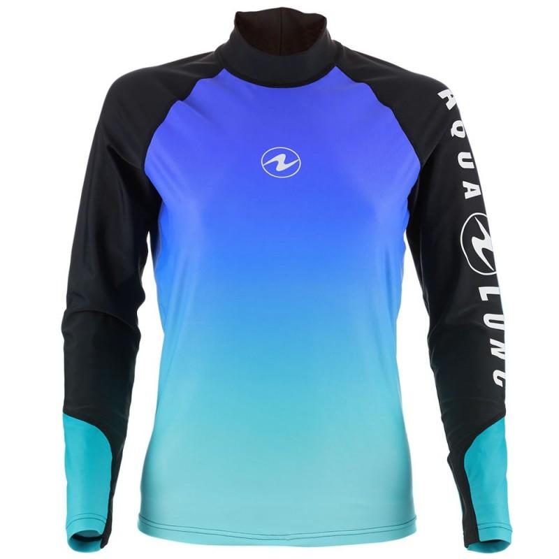 Aqua Lung Women's Long Sleeve Athletic Fit Rashguard